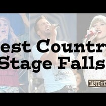 COUNTRY STARS FALLING ON AND OFF STAGE