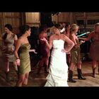 Bride Clears the Dance Floor For Performance With Bridesmaids