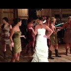 The Best Bride and Bridesmaids Wedding Dance EVER!