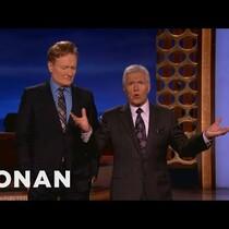WATCH: Conan vs. Alex Trebek