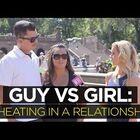Guys vs Girls on what 'cheating' really means