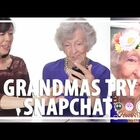 Hey Grandma...check out Snapchat