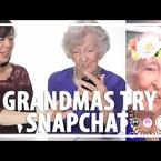 GrandMa's try Snapchat!!
