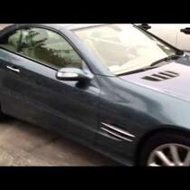 Sally trashes my car!