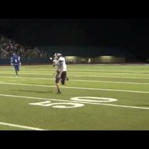 Squib kick to run out the clock doesn't go as planned in this HS game.