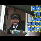 Video: Lemon in the Bottle, How Does He Do That?