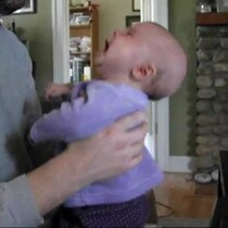 VIDEO: Biggie Makes Baby Stop Crying