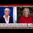 VIDEO: Even MSNBC's Andrea Mithcell Says Hillary Broke Law & Lied