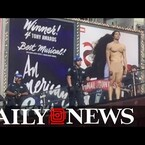 Naked Man In Times Square