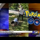 WHAT THE HECK? #PokemonGo Fight Caught on Camera!