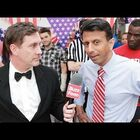 Push-up Contest With Bobby Jindal