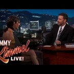 Jimmy Kimmel & Kendall Jenner Talk About Being Neighbors