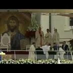 Video. El Papa Francisco y su aparatosa caida!