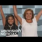 Niña de padres indocumentados hizo llorar a muchos en la Convencion Democrata!