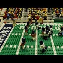 SuperBowl in Lego Form
