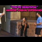 """VIDEO: Dude walks up to women and tells them """"You're beautiful"""" as a social experiment and the results are super cutesy"""