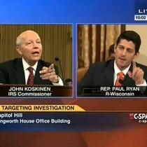VIDEO: Wisconsin Rep. Paul Ryan Blasts IRS Commissioner Over Lost Lois Lerner Emails