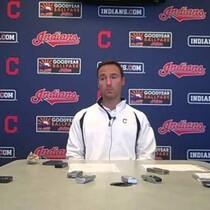 VIDEO: Indians GM Chris Antonetti addresses media