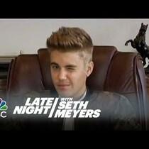 #LOL: Seth Meyers Redubs Bieber's Deposition Video