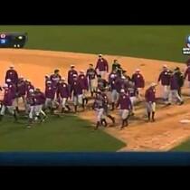 WATCH: Florida vs FSU Bench Clearing Brawl