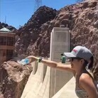 The Updraft Coming Off The Hoover Dam Is So Strong It Makes Water Defy Gravity WATCH