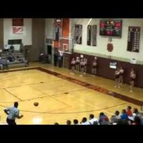 Watch: Amazing HS Basketball shot!