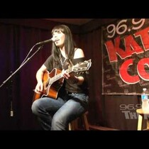 Marlee Scott performs a 96.9 The Kat Exclusive Performance