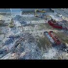 Ariel Drone Footage Of Parmatown Mall Demolition