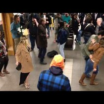 WATCH: Dance party breaks out on NYC Subway platform