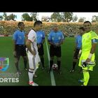 That Doesn't Happen Often! Watch Hot The Coin Lands Before The Colombia vs Paraguay Match