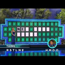 The impossible Wheel of Fortune guess
