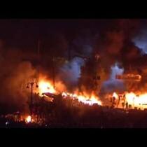 Raw: Clashes Resume in Ukraine