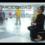 Motorized Suitcase: Now You Can Ride Your Luggage