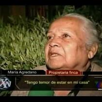 video.-Mujer se pelea con un fantasma