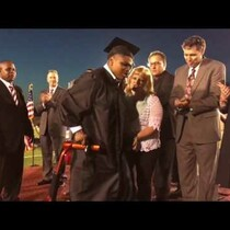 VIDEO: A Kid with Cerebral Palsy Walked for the First Time at His Graduation!