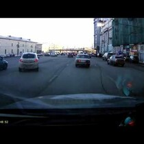 No Way Did This Happen!!!  Car Drifts Into Parking Space