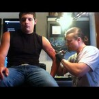 Guy Faints While Getting A Tattoo!!!
