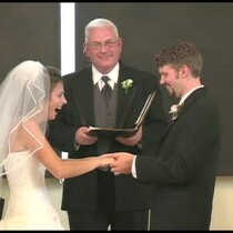 WATCH: This groom blew it at the alter....the bride lost it!