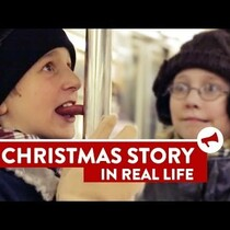 Completely GROSS re-enactment of A Christmas Story