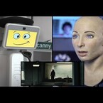 VIDEO: Robots get scared watching horror movie trailer