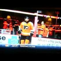 NBC Penguins vs Flyers Promo