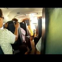 Passenger Of Crashing Plane Takes Video And Selfie!