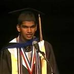 Perfect SAT Student Dumps Girlfriend in Grad Speech!