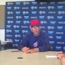 VIDEO: Terry Francona talks with media