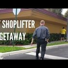 Shoplifter Makes a Hilarious Getaway With Commentary