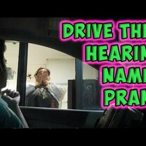 WATCH: Yelling Employee's Name At The Drive Thru Prank