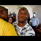 San Antonio's own Derrick Kindred reacts after being drafted by the Cleaveland Browns