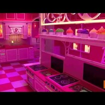 Barbie's Life Size Dream House!!!
