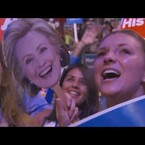 Hillary Clinton Closes Out Tuesday Night Of The DNC