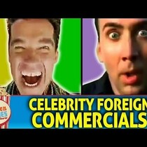 Japanese commercials are like an acid trip with your favorite actors.